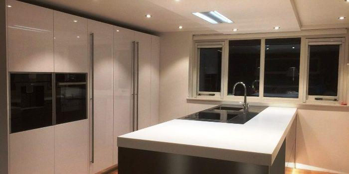 Goede Project 746 - Witte Italiaanse design keuken - Snaidero Concept Store HF-71