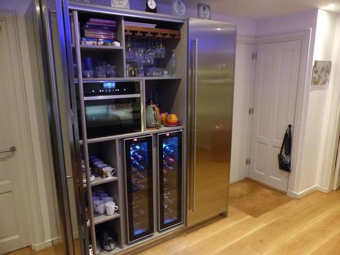 Project 767 snaidero keuken in alkmaar snaidero concept store - Roestvrijstalen kast ...