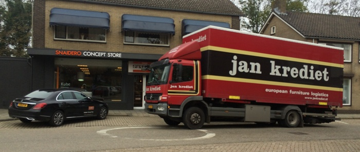 The first deliveries arrive at our store in The Netherlands.
