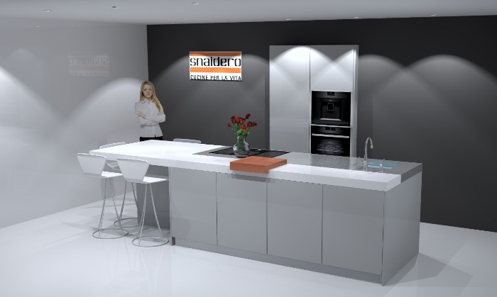 Design Keuken Utrecht : Project italiaanse design keuken in utrecht snaidero