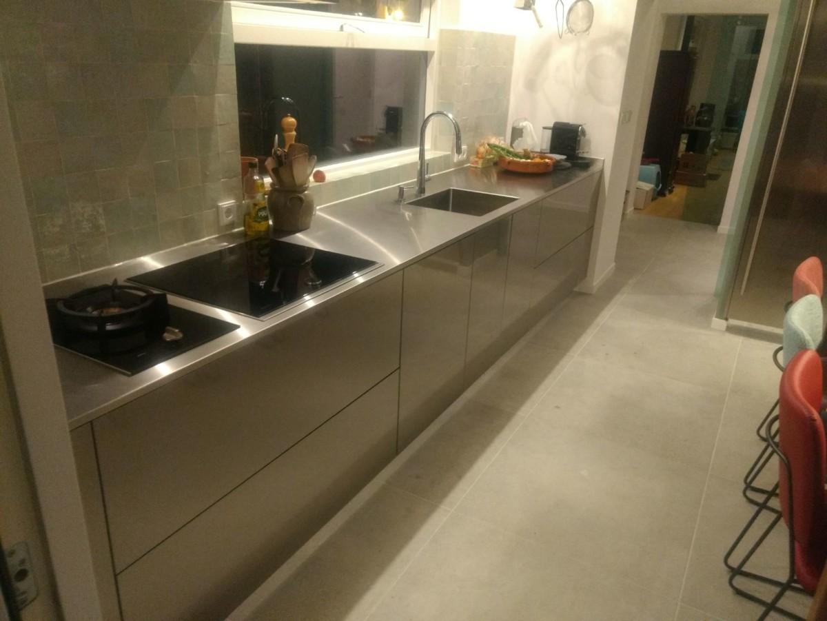 Rvs Design Keuken : Project italiaanse design keuken in driebergenu rijsenburg