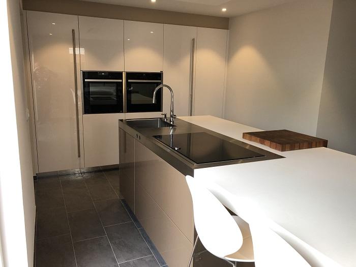 Snaidero keuken geplaatst in Arnemuiden.