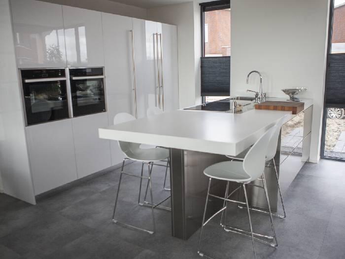 Snaidero S10 keuken in hoogglans wit