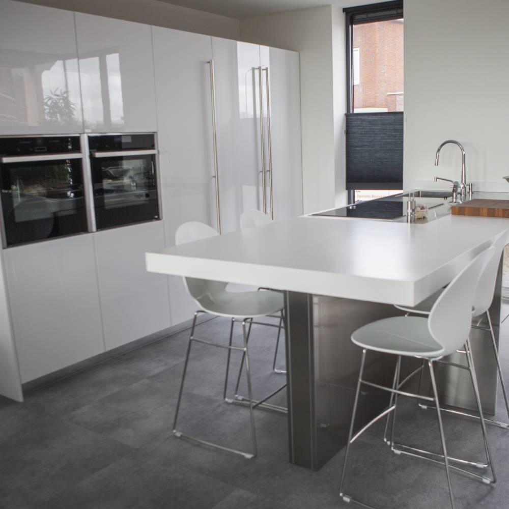 Snaidero keuken S10 in wit hoogglans